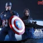 Hot Toys - Civil War : Captain America & Winter Soldier