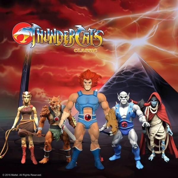 Mattycollector dévoilera les Thundercats Classics à la Toys Fair