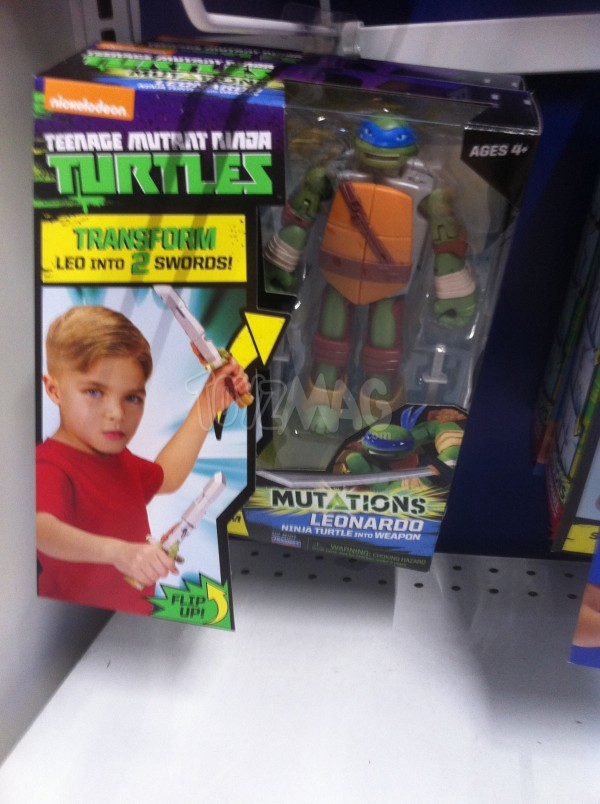 Tortues Ninja Mutation Transform