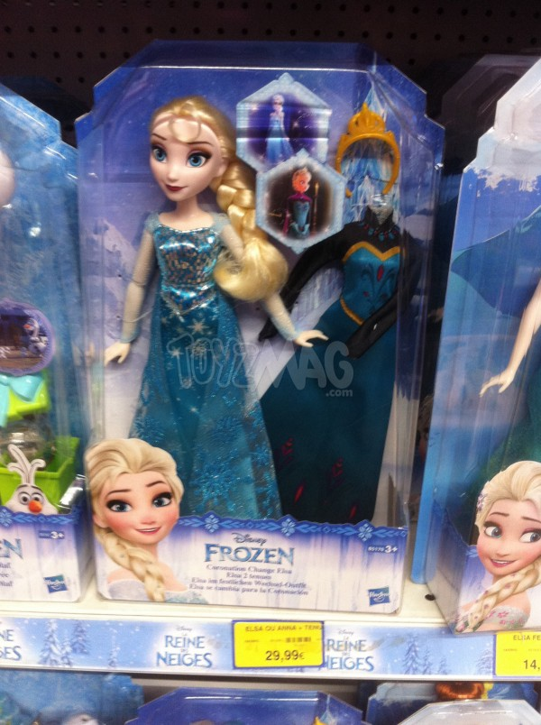 poupée hasbro La reine des Neiges