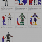 Ouverture des ventes Marvel Legends Civil War sur Disney Store