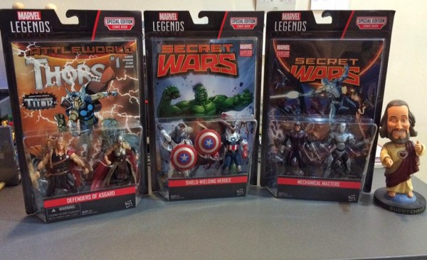 Marvel Legends 2016 Secret Wars Comic Pack