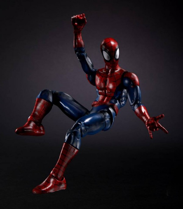 Marvel Legends Avengers et Spider-Man 2016