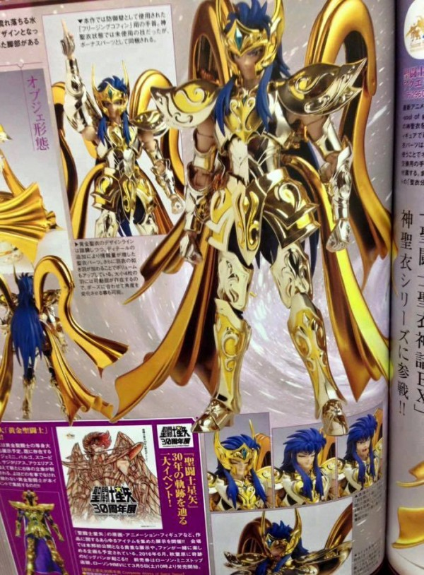 Camus Chevalier d'Or du Verseau MCEX Soul Of Gold