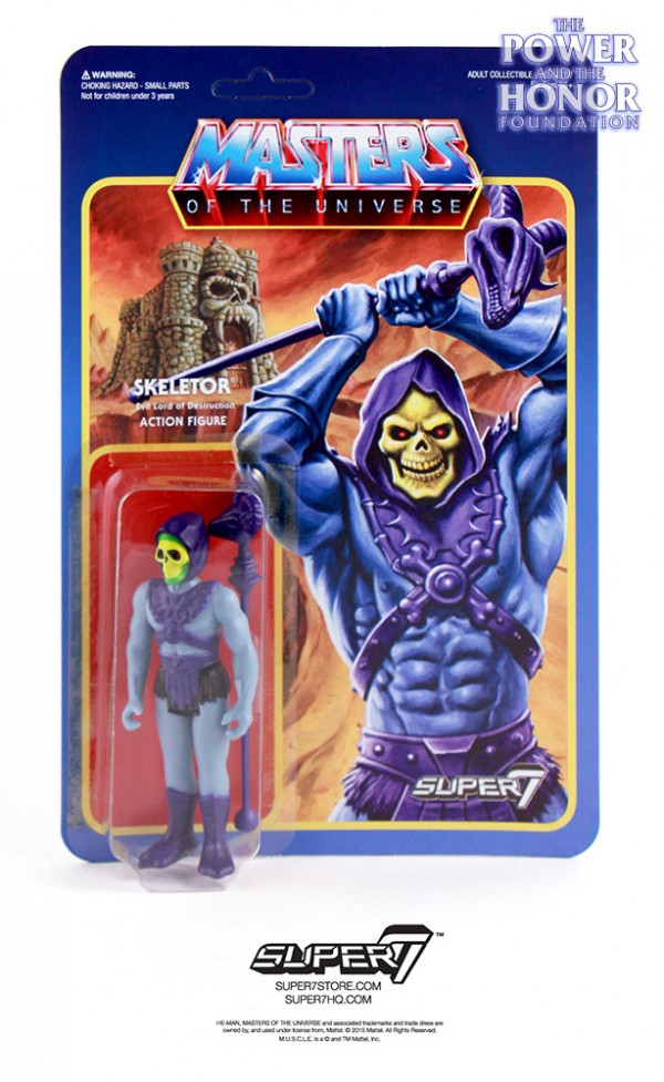 Skeletor ReAction MOTU