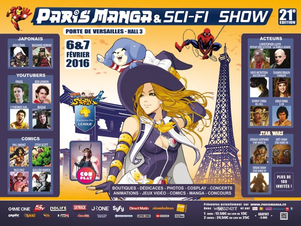PARIS MANGA & SCI-FI SHOW 21