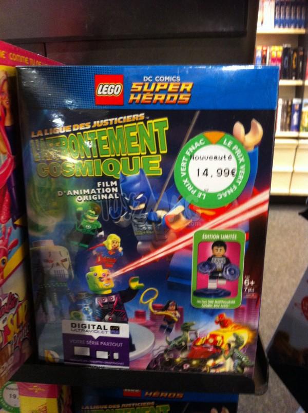 DVD de LEGO DC Comics Super Heroes : La ligue des justiciers l'affrontent cosmique
