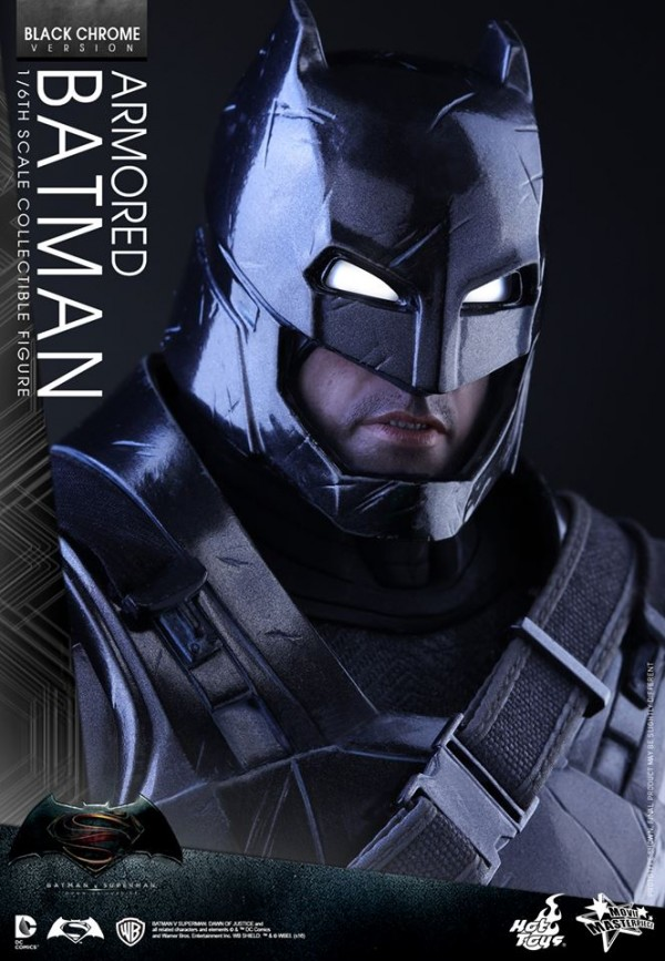 Batman v Superman : Batman Black ChroBatman v Superman : Batman Black Chrome par Hot Toysme par Hot Toys