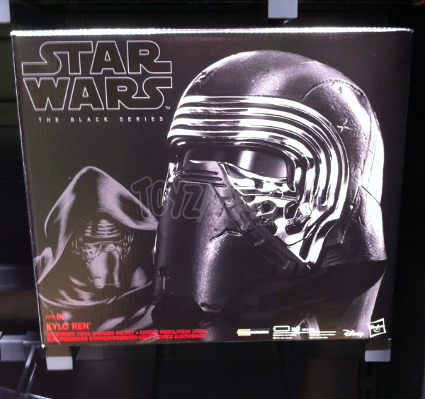 Masque Black Series de Kylon Ren