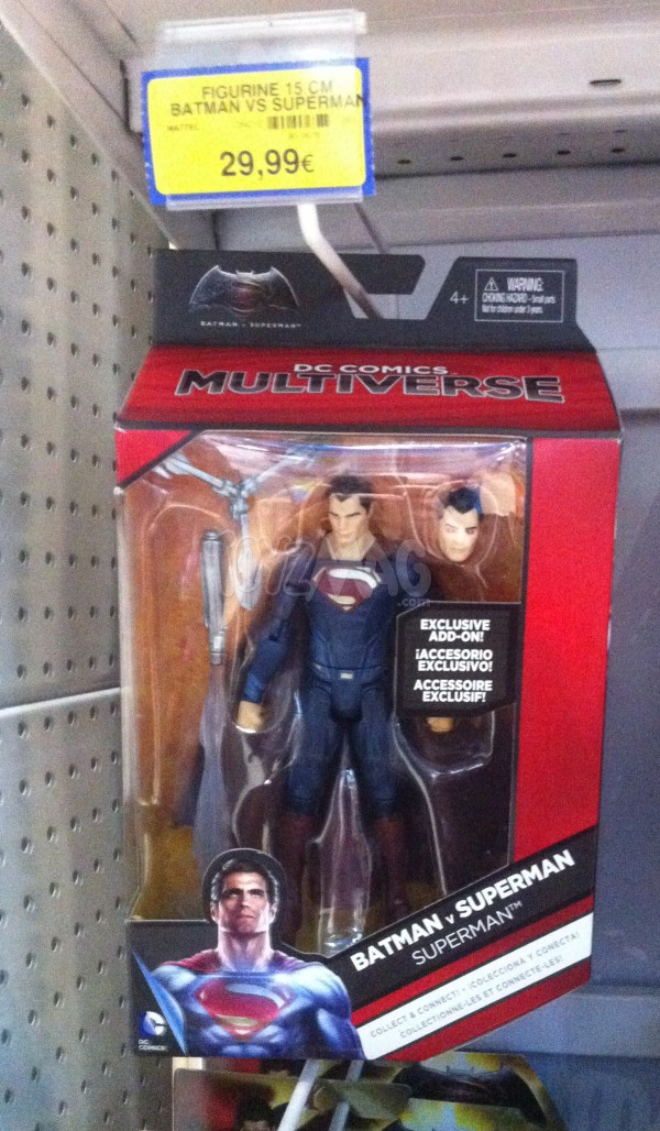 Batman v Superman DC Comics Multiverse SUPERMAN MATTEL