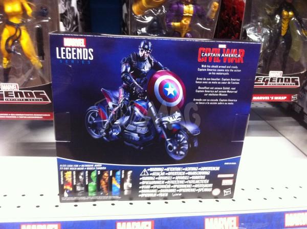 "Captain America Civil War HASBRO MARVEL LEGENDS 10CM 3""3/4 CAPT et moto BIKE"
