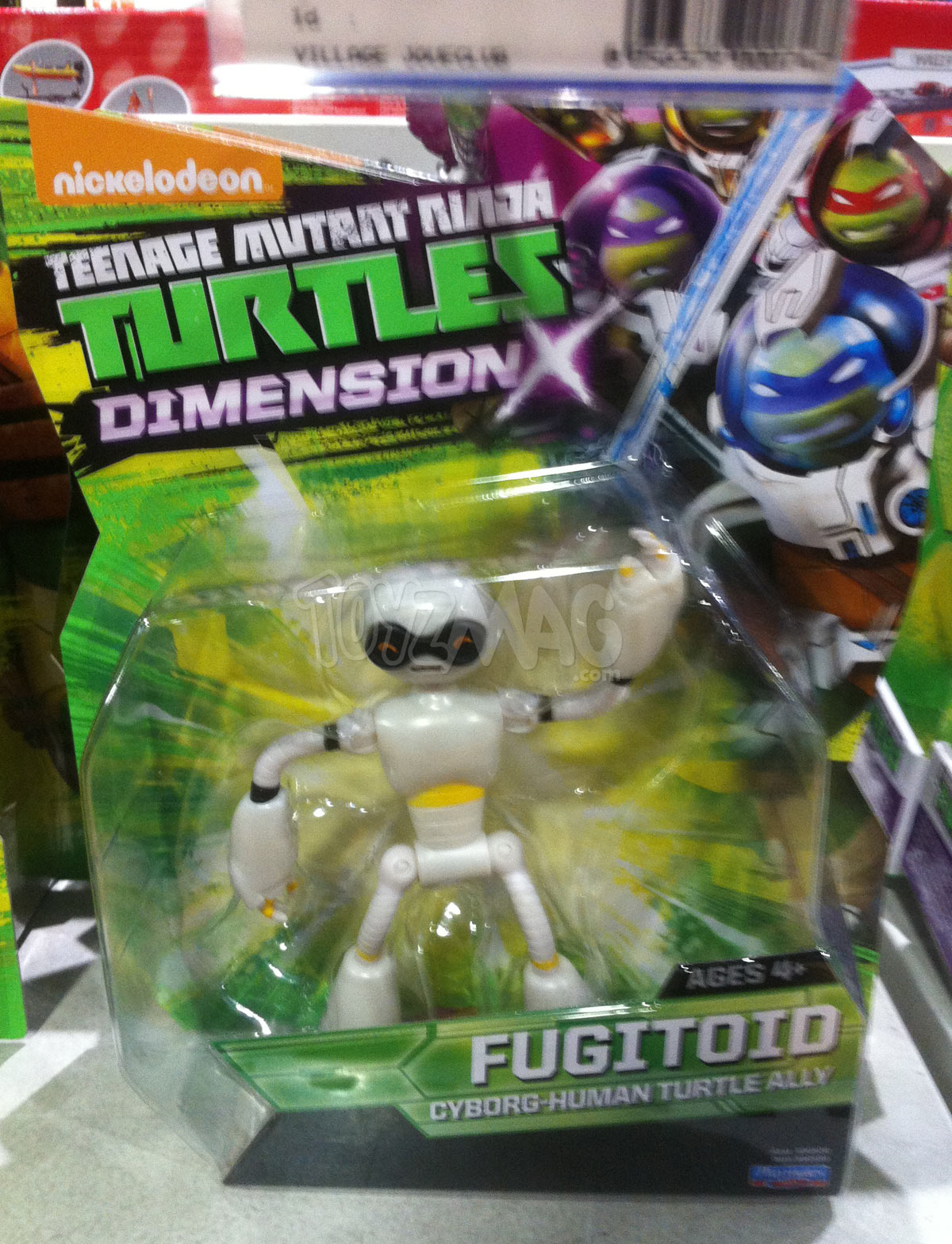 Figurine Tortue Ninja Dimension X de