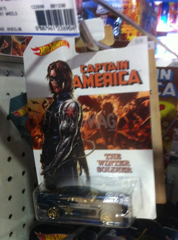 Hot Wheels : Captain America