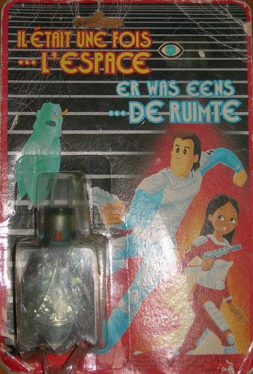 METRO 10cm PVC en blister POPY Il était une fois...l'espace