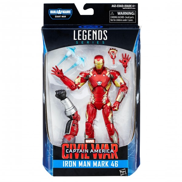 Marvel Legends Captain America Civil War IRON MAN mark 46