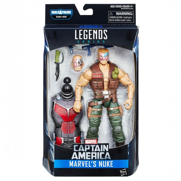 Marvel Legends Captain America Civil War NUCK
