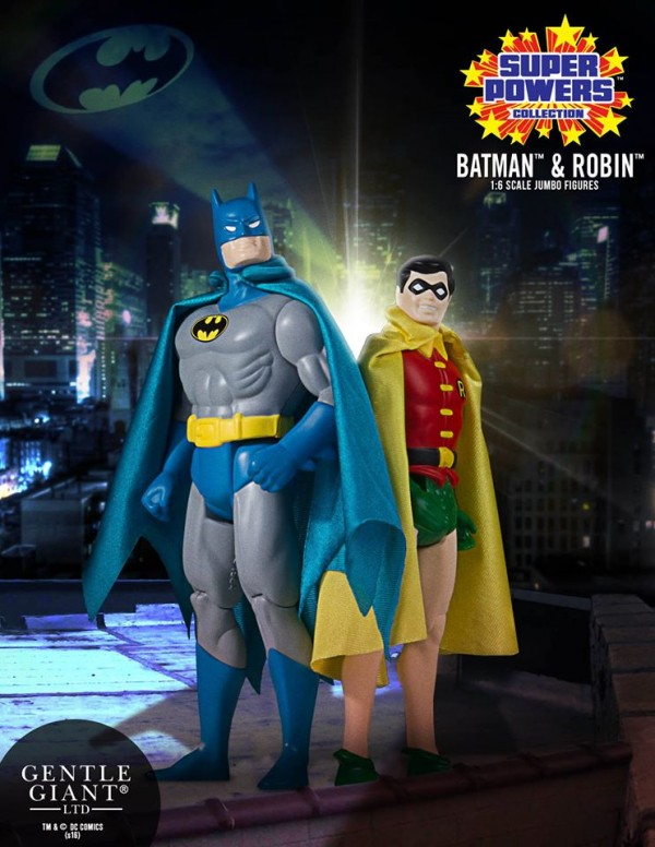 Super Powers Batman Robin Jumbo