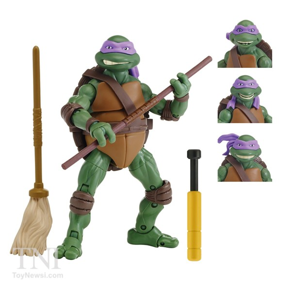 Donatello Figurines Tortues Nijna  Teenage Mutant Ninja Turtles Classics Secret Of The Ooze Walmart Exclu