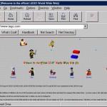 LEGO fête les 20 ans de son site Internet