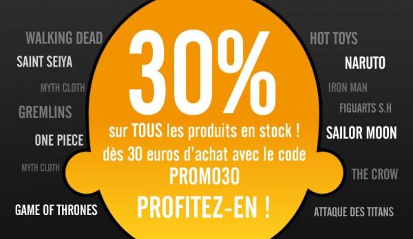 30% de reduction chez captainfigurines.fr