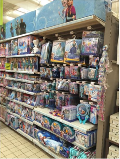 Auchan Aubagne Disney Frozen