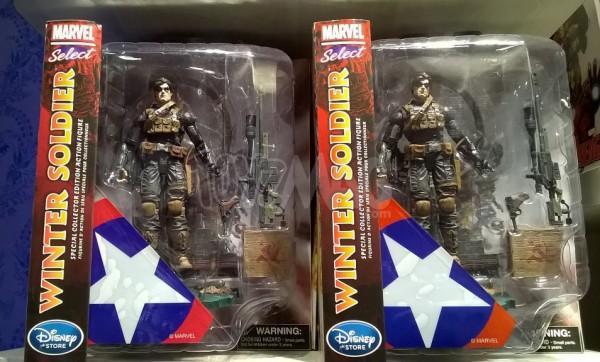 Marvel Select exclu Disneystore Captain america Civil War