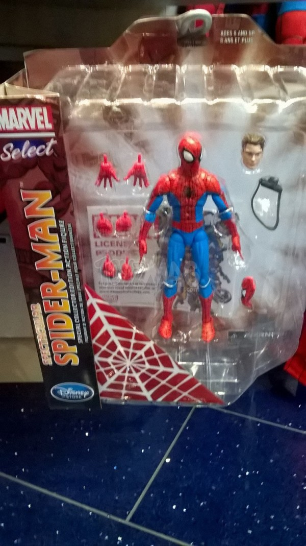 disneystore Marvel Slect Spider-man