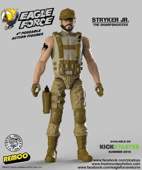 eagle force return Stryker Jr.