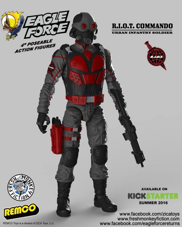 eagle force returns the R.I.O.T. Commando