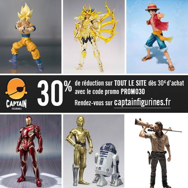 30% de reduc chez Captainfigurines.fr