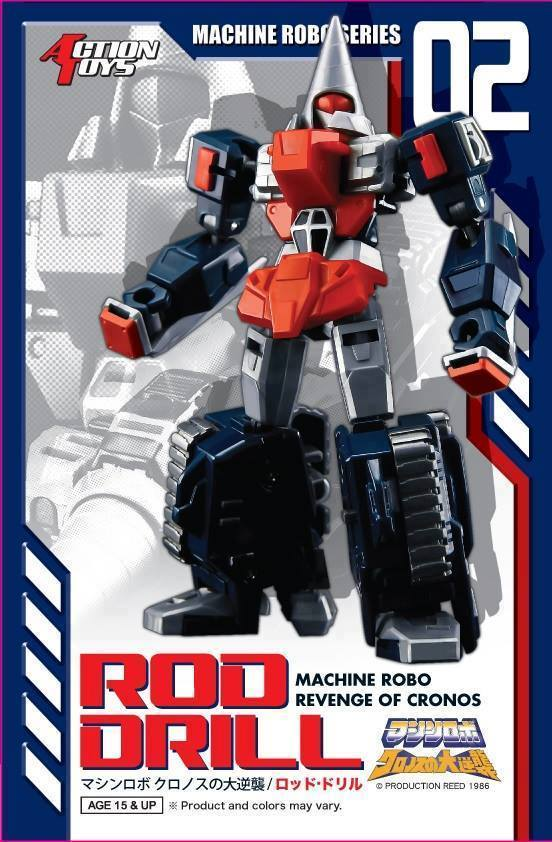 Action Toys Machine Robo drill