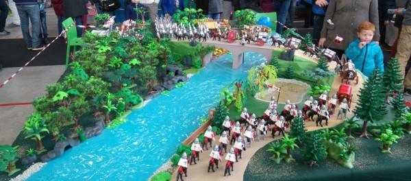 expo Playmobil c'est tenue les 5 et 6 mars 2016 à Saucats (en Gironde) organisée par l'association Tuttitoys