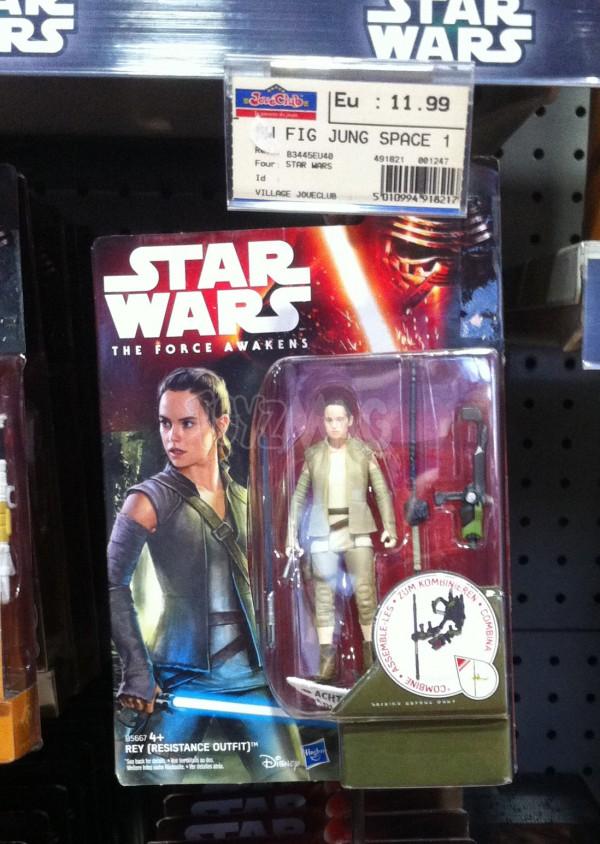 figurines rey resistance outfitt Star Wars le reveil de la Force TFA