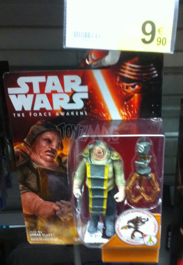 figurines unkar plutt Star Wars le reveil de la Force TFA