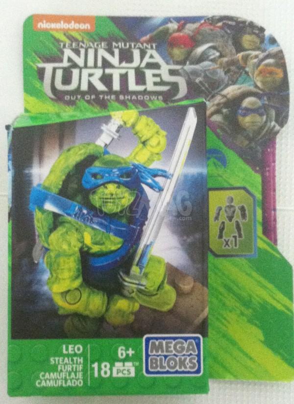 MEGA BLOKS Ninja Turtles 2 teenage Mutant Ninja Turtles: Out of the Shadows