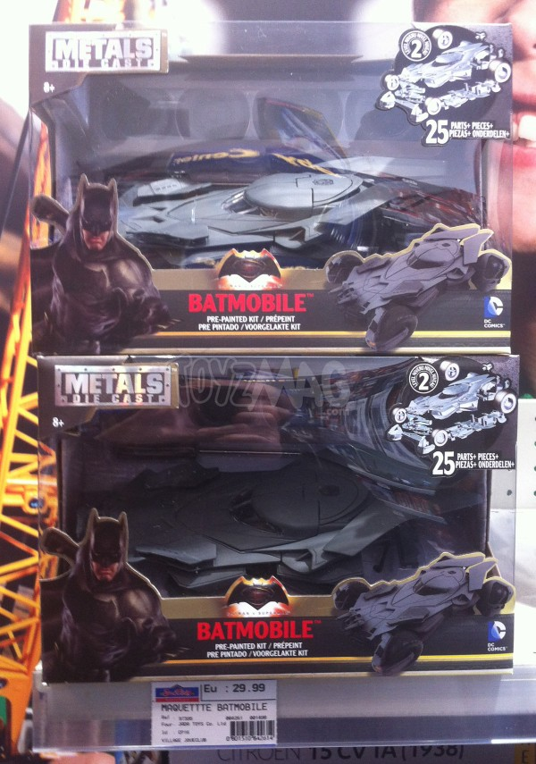 batmobile Batman v Superman die cast model