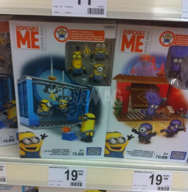 Mega Bloks Minions