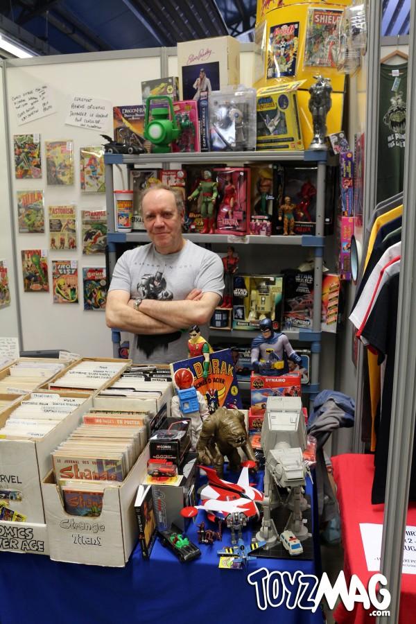Krypton Collections au Paris Comics Expo 2016