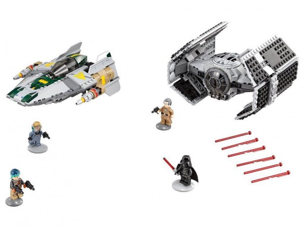 Lego Star Wars 75150 Vader's Tie Advenced vs A-wing Starfighter