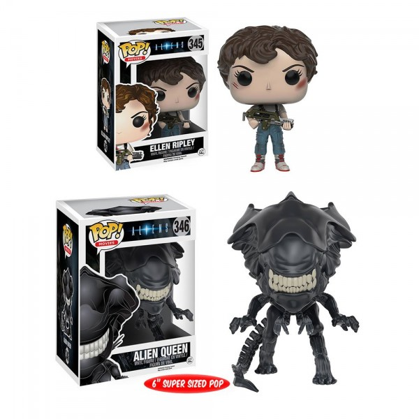 Ellen Ripley Pop! Alien Queen Pop!  super-sized 6""