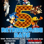 Agenda weekend :  Retro Gaming Days 23-24 avril 2016 à Evreux (27)
