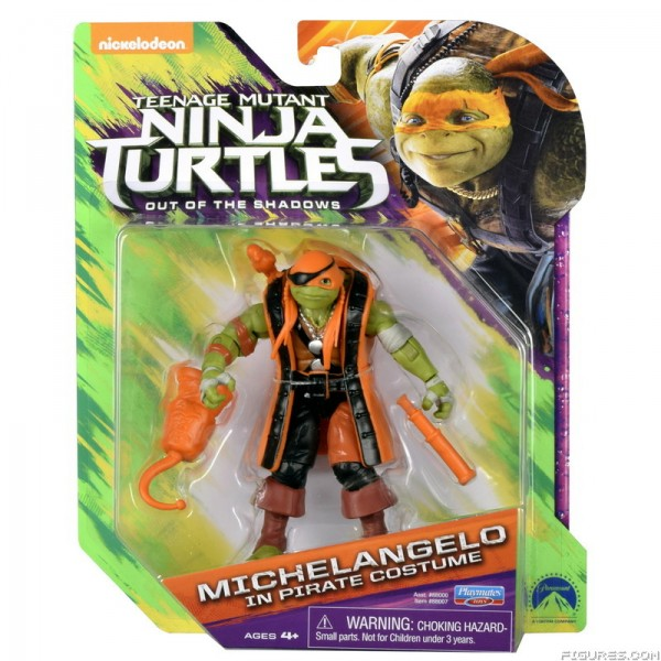 MIKE PIRATE figurine Ninja Turtles 2 - Teenage Mutant Ninja Turtles: Out of the Shadows - tortue ninja 2
