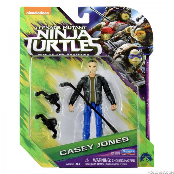 casey jones figurine Ninja Turtles 2 - Teenage Mutant Ninja Turtles: Out of the Shadows - tortue ninja 2