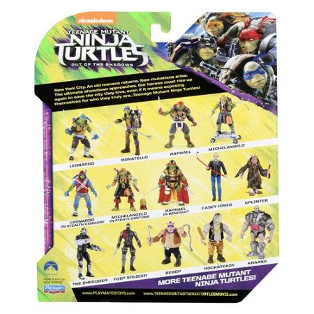 rocksteady figurine Ninja Turtles 2 - Teenage Mutant Ninja Turtles: Out of the Shadows - tortue ninja 2