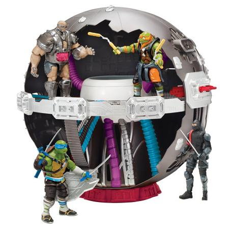 Technodrome figurine film  Ninja Turtles 2 - Teenage Mutant Ninja Turtles: Out of the Shadows - tortue ninja 2