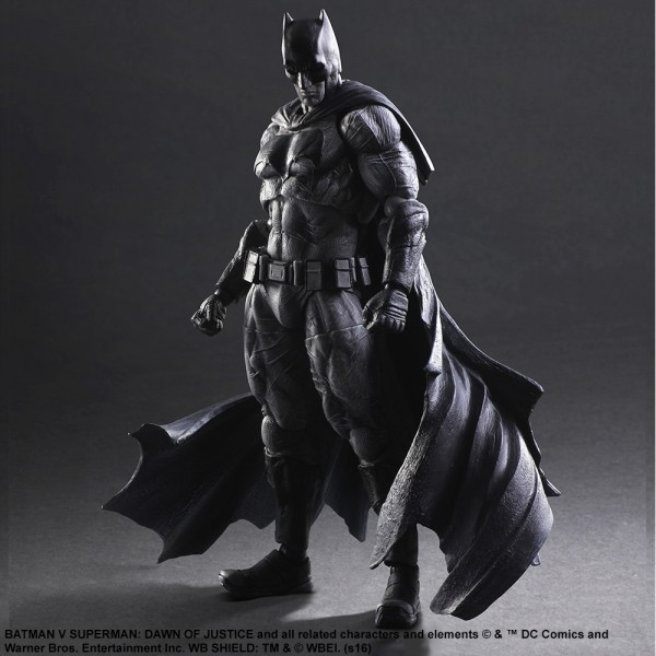 Batman Play Arts Kai (Black & White Version) Batman v Superman: Dawn of Justice