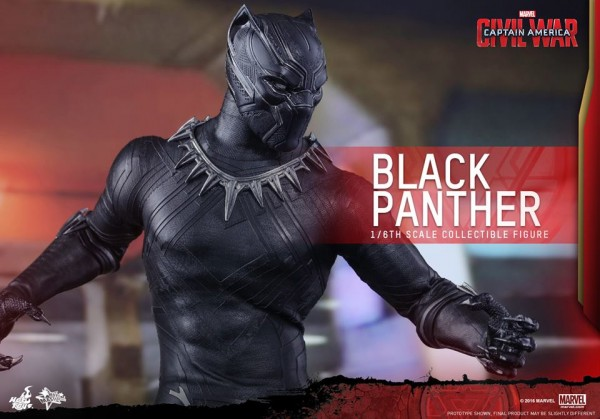 Captain America:CW - 1/6th scale Black Panther Collectible Figure.