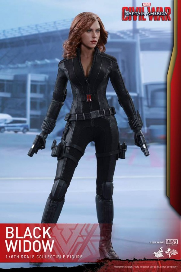 Black Widow CA: Civil War HOT TOYS