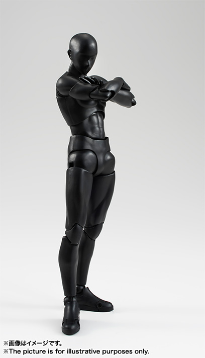 S.H.Figuarts Solid Black Color