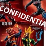 Marvel Legends : des fuites sur les figurines X-Men et Spider-Man